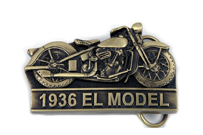 V-Twin 48-7783 - Knucklehead Belt Buckle