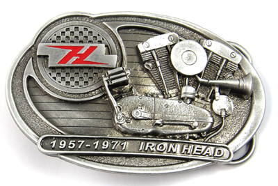 V-Twin 48-7787 - XLCH Sportster Belt Buckle