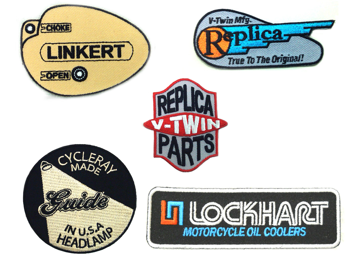 V-Twin 48-8004 - Cloth Patch Set Series 4