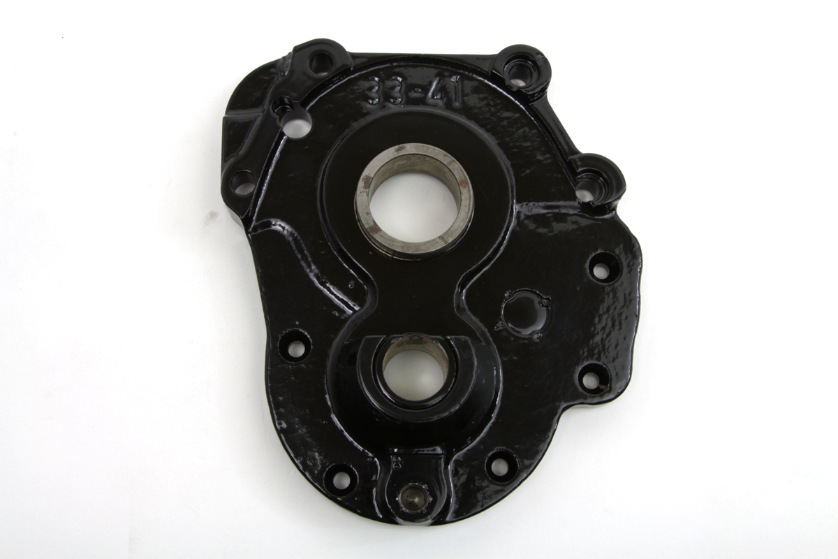 V-Twin 49-0455 - Transmission Side Cover for 4-speed Transmissio