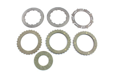 V-Twin 49-1160 - Replica Clutch Plate Set