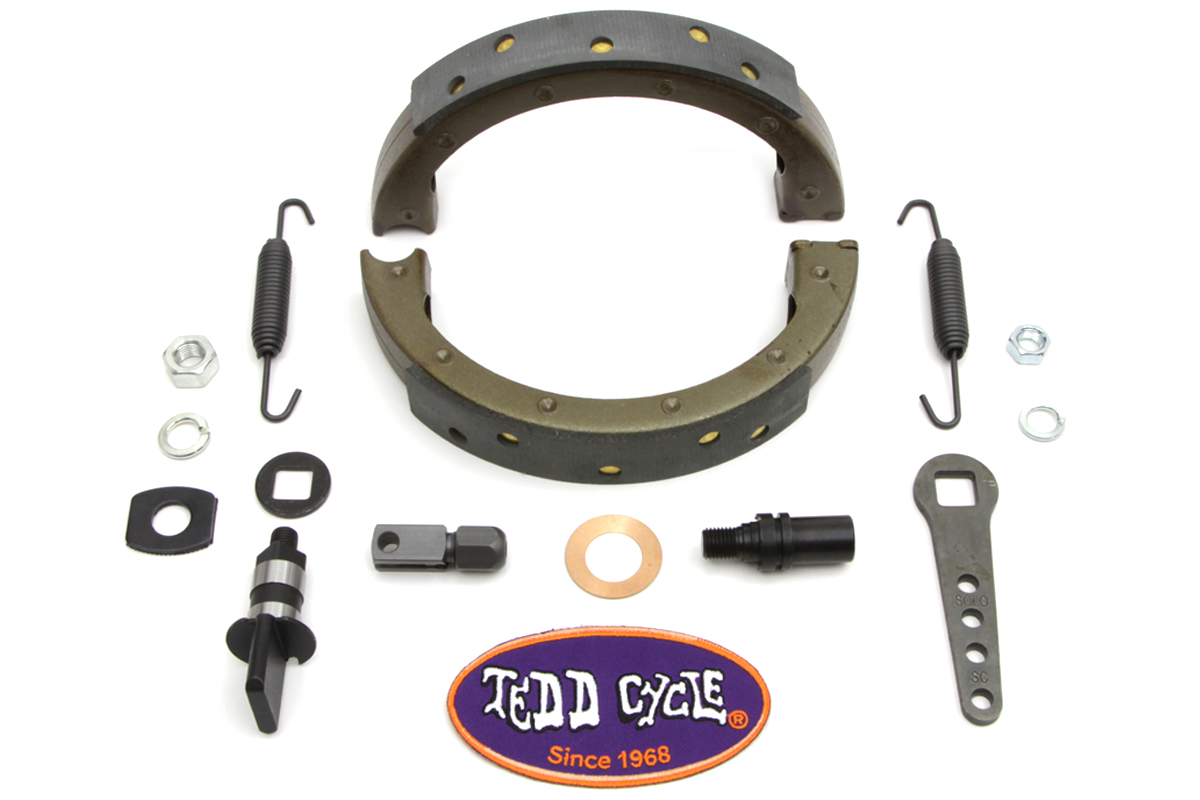 V-Twin 49-1673 - Front Brake Shoe Kit