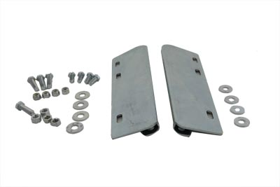 V-Twin 49-2542 - Zinc Saddlebag Mount Kit