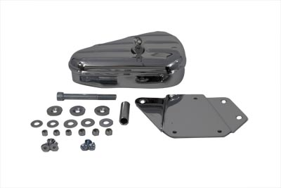 V-Twin 50-0604 - Chrome Right Side Tool Box and Mount Kit