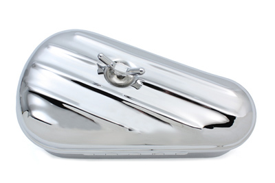 V-Twin 50-0608 - Replica Oval Right Side Chrome Tool Box