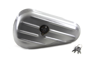 V-Twin 50-0615 - Oval Right Side Raw Tool Box