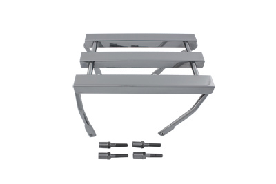 V-Twin 50-1013 - 3 Channel Luggage Rack Chrome
