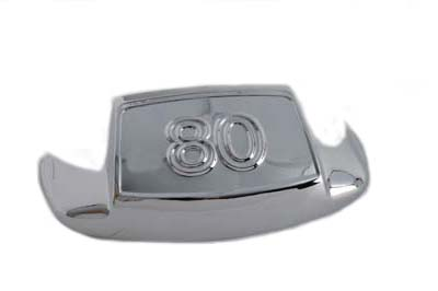 "V-Twin 50-1031 - Chrome Front Fender Tip ""80"""