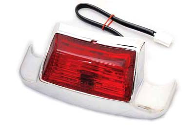 V-Twin 50-1161 - Rear Fender Tip with Bulb Type Lamp
