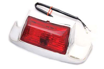 V-Twin 50-1163 - Rear Fender Tip with Bulb Type Lamp