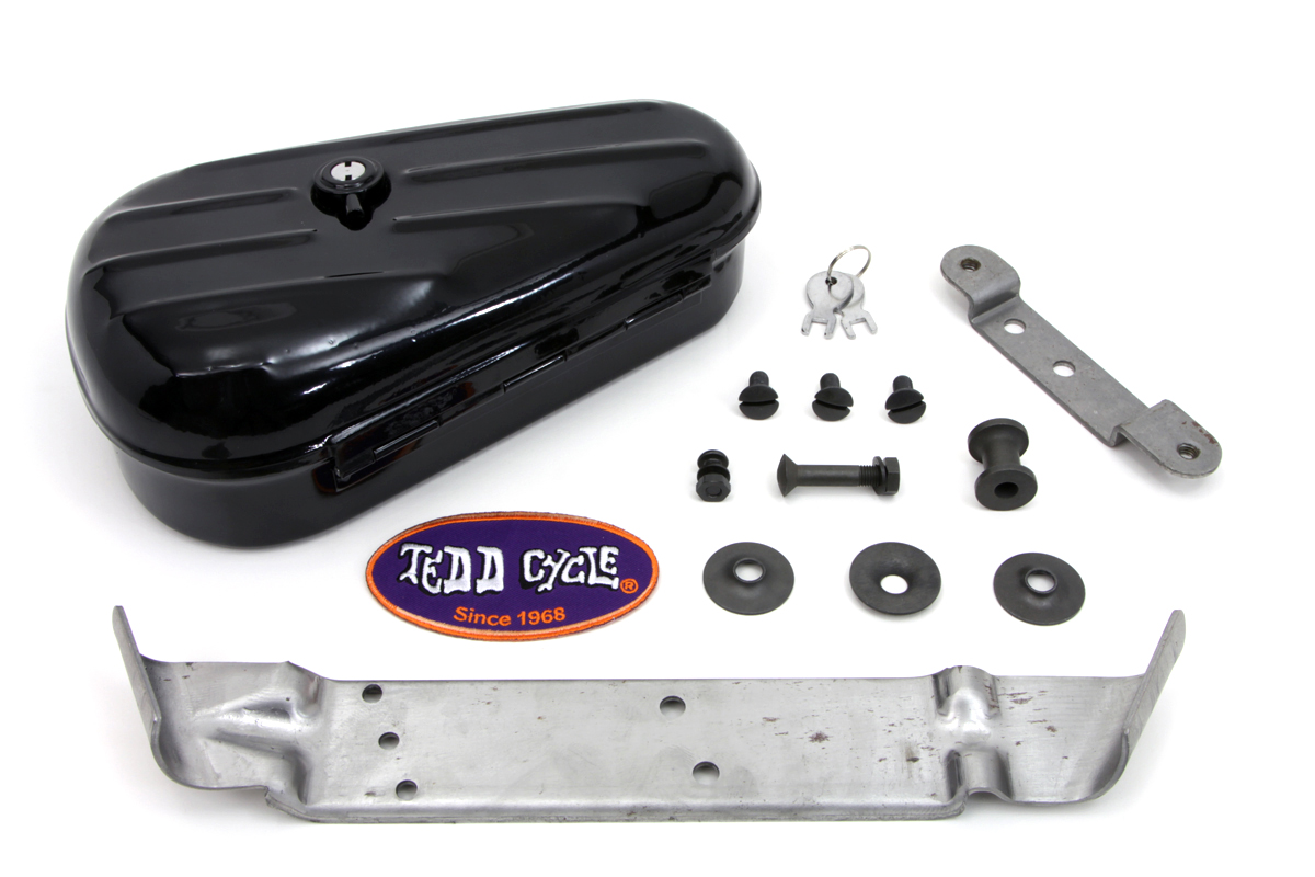 V-Twin 50-1186 - Black Rigid Tool Box Kit