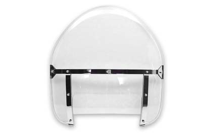 V-Twin 51-0238 - Replica Assembled Clear Windshield