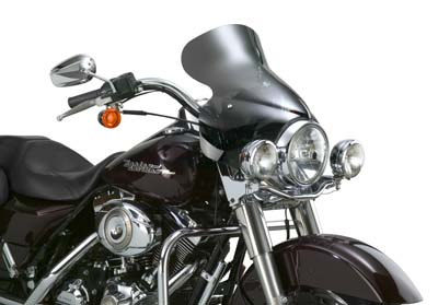 V-Twin 51-0281 - Wave Q R Windshield with Dark Tint