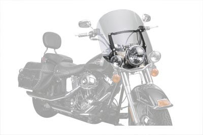 V-Twin 51-0284 - Spartan Quick Release Windshield Clear