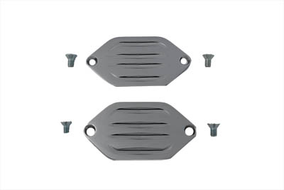 V-Twin 51-0634 - Billet Axle Cover Set
