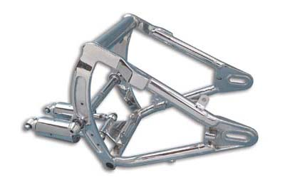 V-Twin 51-0652 - Swingarm and Shock Assembly Chrome