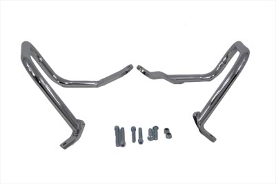 V-Twin 51-0877 - Chrome Rear Engine Bar Set