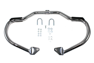 V-Twin 51-0997 - Front Engine Bar Chrome with Foot Pads