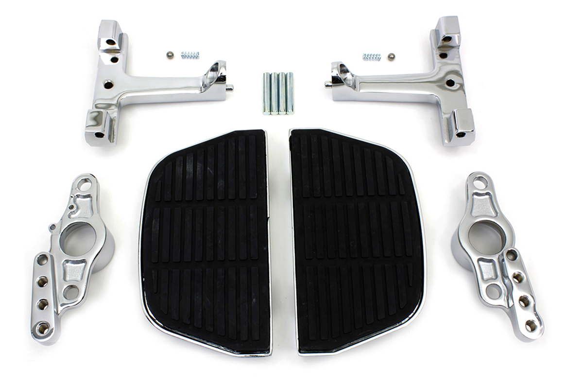 V-Twin 51-0998 - Passenger Footboard Set with Swingarm Mount Kit