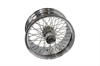 "V-Twin 52-0122 - 18"" Rear Spoke Wheel"