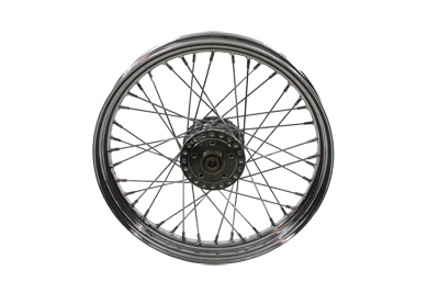 "V-Twin 52-0158 - 19"" Front Spoke Wheel"