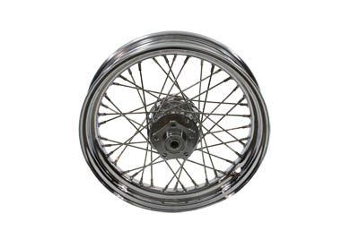 "V-Twin 52-0179 - 16"" Front or Rear Spoke Wheel"