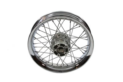 "V-Twin 52-0665 - 16"" Rear Spoke Wheel"