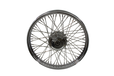 "V-Twin 52-0733 - 19"" Front Spoke Wheel"