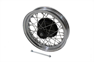 "V-Twin 52-0756 - 16"" Front Wheel Assembly"