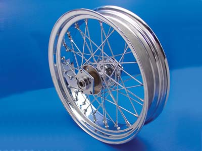 "V-Twin 52-0775 - 18"" Rear Spoke Wheel"
