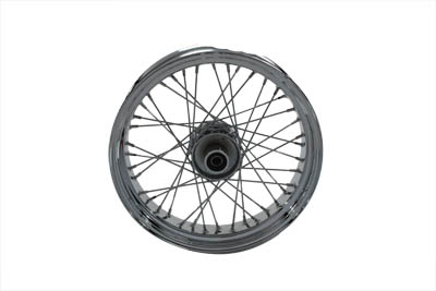 "V-Twin 52-0778 - 18"" Replica Front Spoke Wheel"