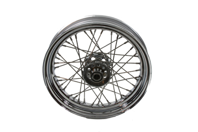"V-Twin 52-0800 - 16"" Replica Front or Rear Spoke Wheel"