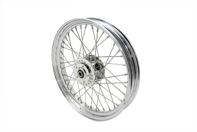 "V-Twin 52-0818 - 19"" Replica Front Spoke Wheel"