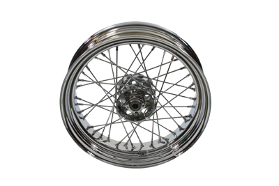 "V-Twin 52-0831 - 16"" Replica Rear Spoke Wheel"