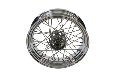 "V-Twin 52-0832 - 16"" Replica Rear Spoke Wheel"