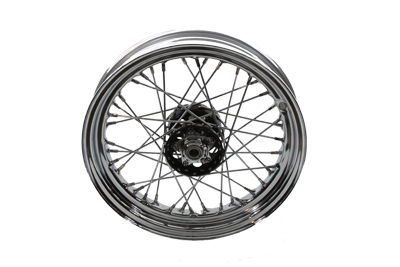 "V-Twin 52-0847 - 16"" Replica Front or Rear Spoke Wheel"