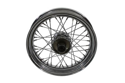 "V-Twin 52-0848 - 16"" Replica Front Spoke Wheel"