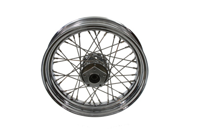 "V-Twin 52-0849 - 16"" Replica Front Spoke Wheel"