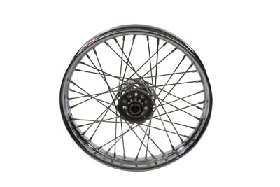"V-Twin 52-0877 - 18"" Front or Rear Spoke Wheel"