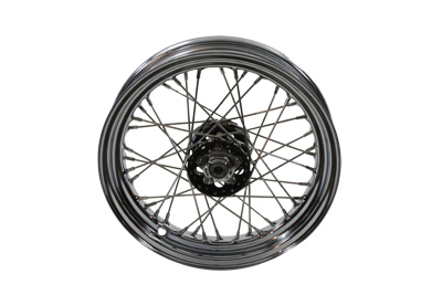 "V-Twin 52-0880 - 16"" Replica Front or Rear Spoke Wheel"