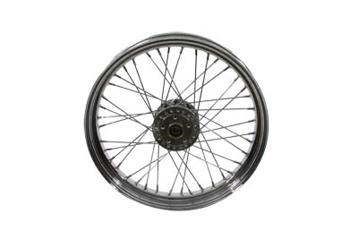 "V-Twin 52-0895 - Replica 21"" Spoked Front Wheel"