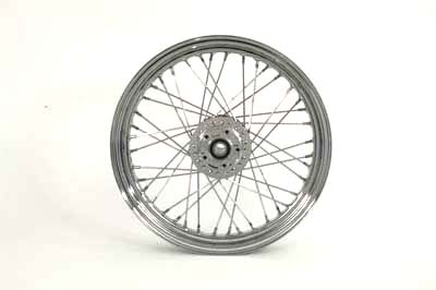 "V-Twin 52-2000 - 19"" Replica Front Spoke Wheel"