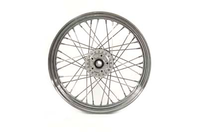 "V-Twin 52-2001 - 19"" Replica Front Spoke Wheel"
