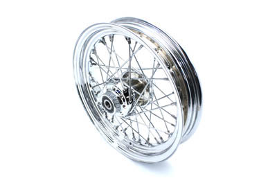 "V-Twin 52-2006 - 16"" Replica Front Spoke Wheel"