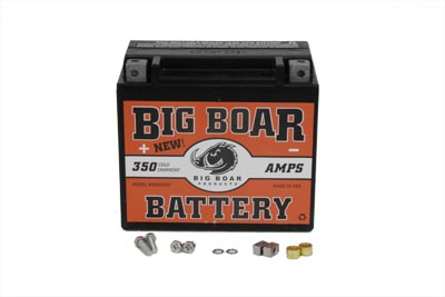 V-Twin 53-0700 - Big Boar Battery 350 Amps Sealed Maintenance Fr