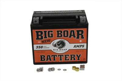 V-Twin 53-0701 - Big Boar Battery 350 Amps Sealed Maintenance Fr
