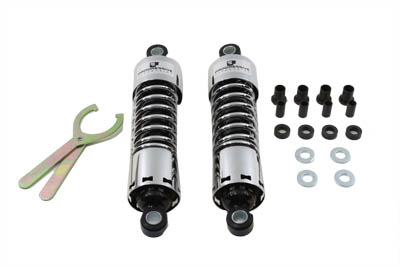 "V-Twin 54-0033 - 11-1/2"" Progressive 412 Series Shock Set"