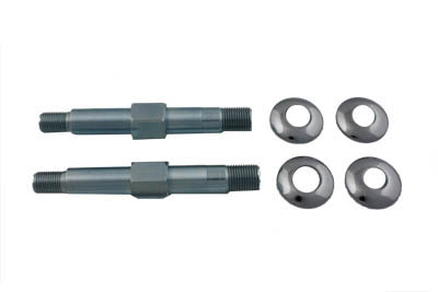 V-Twin 54-0409 - Upper Rear Shock Stud Kit Zinc
