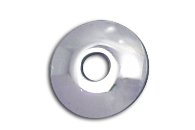 "V-Twin 54-0418 - Chrome Shock Stud Washers 5/8"" Hole"