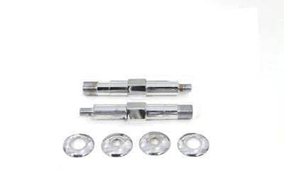V-Twin 54-0442 - Chrome Upper Rear Shock Stud Kit